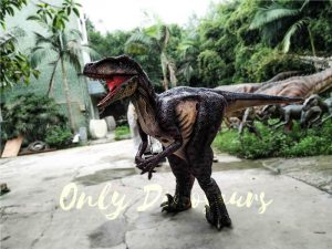 Realistic Velociraptor Suit for Prank
