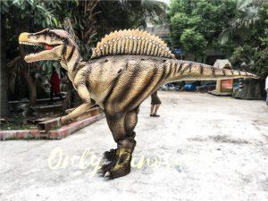 Reality Dinosaur Suit Costumes Hidden Legs