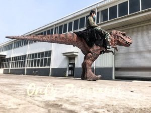 Ride-On T-Rex Realistic Costume