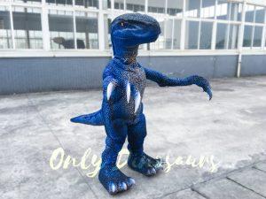 Lifelike Velociraptor Costume for Kids