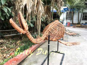 4 Meters Lifelike Complete Plesiosaur Dinosaur Skeleton