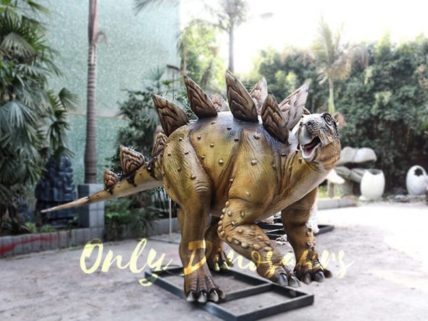 Adult Dinosaur Animatronic Stegosaurus for Park1