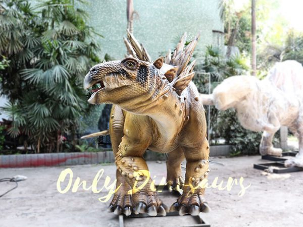 Adult Dinosaur Animatronic Stegosaurus for Park2