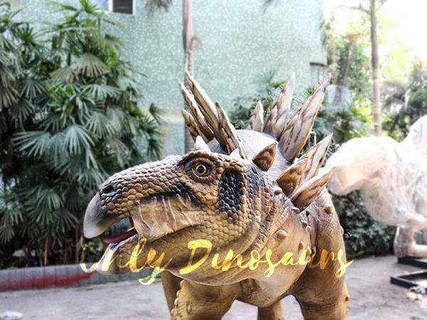 Adult Dinosaur Animatronic Stegosaurus for Park3