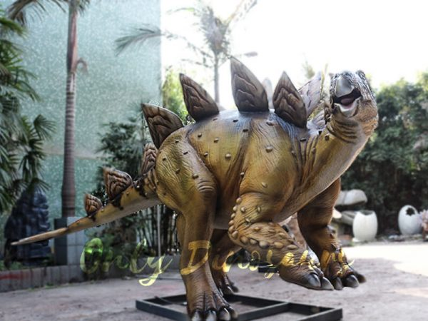 Adult Dinosaur Animatronic Stegosaurus for Park4
