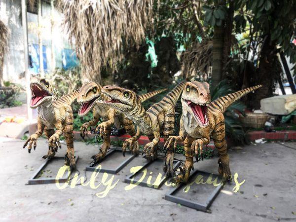 Agminate Utahraptor Animatronic Dinosaur Show Props1