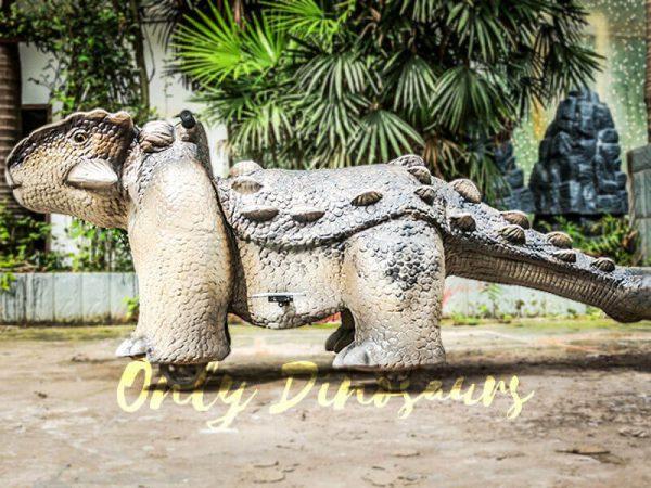 Amusement Ankylosaur Dinosaur Rider for Kiddy2