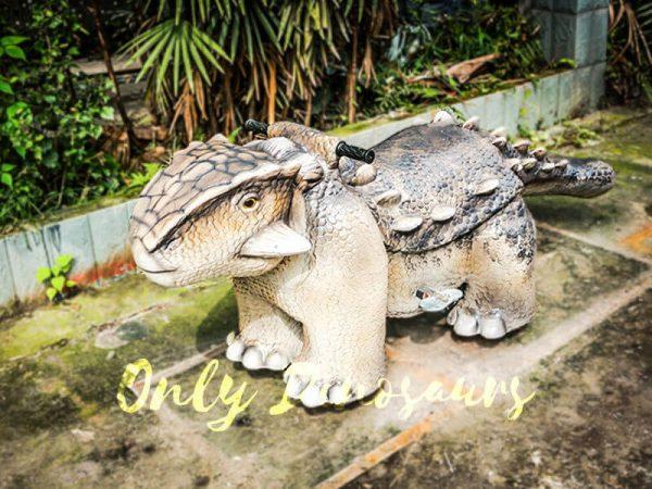 Amusement Ankylosaur Dinosaur Rider for Kiddy4