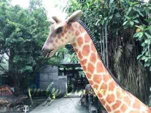 Amusement Park Animatronic Giraffe for sale