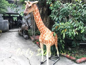 Amusement Park Animatronic Giraffe for sale