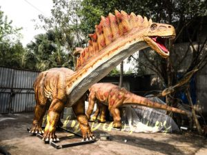 Animatronic Amargasaurus for Display