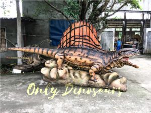 Animatronic Characters Dimetrodon for Exhibiton
