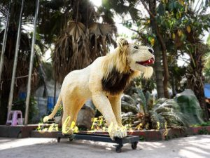 Animatronic Lion for Theme Park