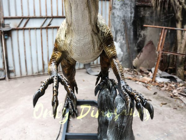 Animatronic Velociraptor with stub for Park3