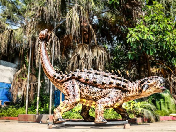 Animatronics Monster Ankylosaur for Dinosaur Theme1