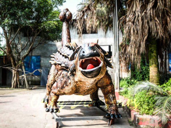Animatronics Monster Ankylosaur for Dinosaur Theme3