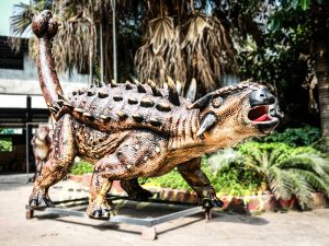Animatronic Monster Ankylosaur for Dinosaur Theme
