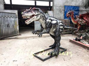 Black Dinosaur Animatronic Allosaurus Prop