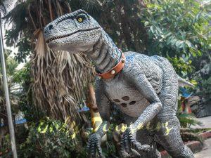 Blue Raptor Suit in Jurassic World