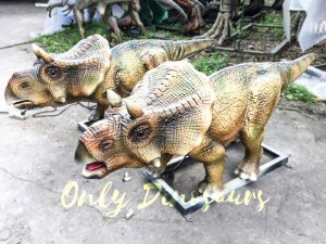 Christmas Animatronics Triceratops Babies for sale