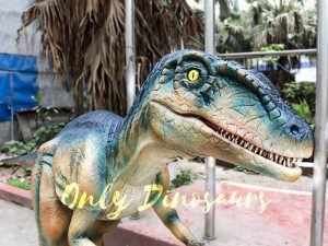 Colorful Animatronic Robot Raptor for sale