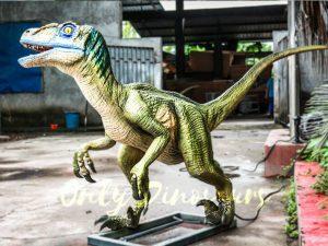Custom Animatronic Raptor in Green