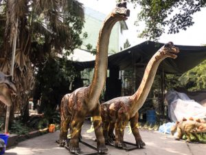 Animatronics Brachiosaurus in Group for sale
