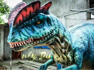Dilophosaurus Costume for Trade Show Attractions