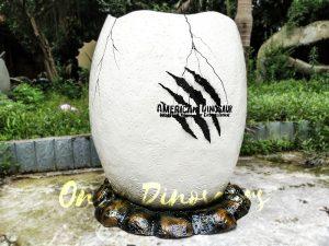 Dinosaur Eggshell Fiberglass Statues for sale