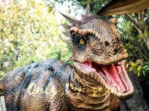 Feathered Raptor Dinosaur Halloween Costume