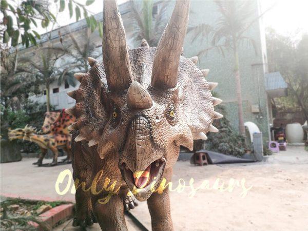 High Quality Animatronic Triceratops Robot Dinosaur2