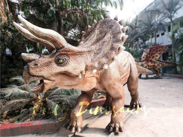 High Quality Animatronic Triceratops Robot Dinosaur4