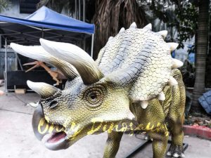 Jurassic Park Animatronics Triceratops for sale