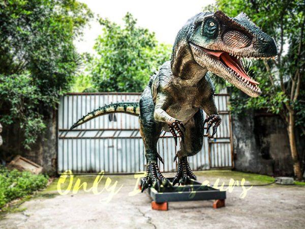 Jurassic Park Scariest Animatronics Allosaurus2