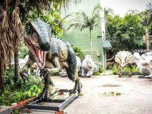 Jurassic Park Scariest Animatronics Allosaurus