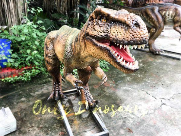 Jurassic Park T rex Animatronic Prop for Vistitor1
