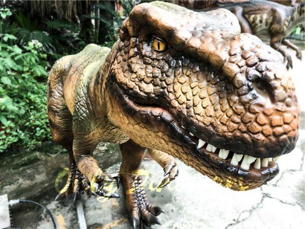 Jurassic Park T rex Animatronic Prop for Vistitor6