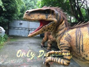 Jurassic World Dinosaur Costume Adults Realistic Raptor