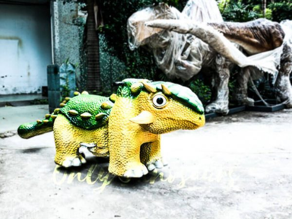 Kiddie Rideable Dinosaurs Ankylosaur in Dinosaur Park3