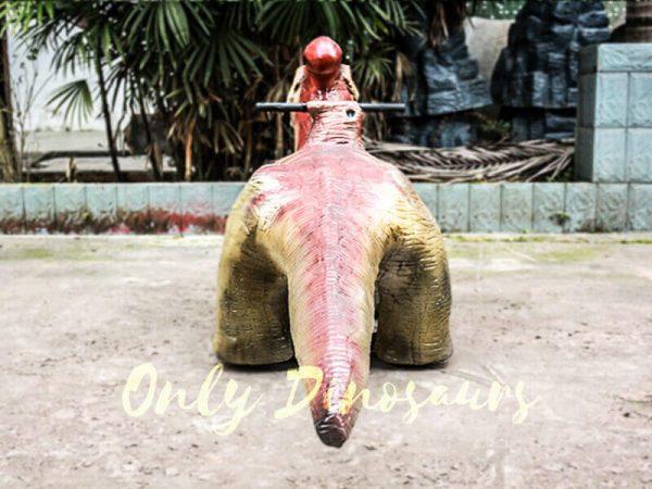 Lifelike Dinosaur Rides Parasaurolophus for Playground3