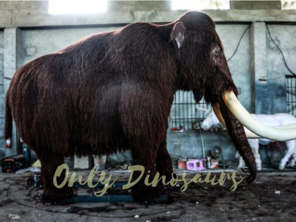 Original Animal Animatronic Mammoth for Park1