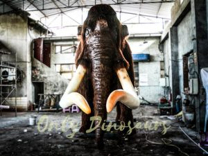 Original Animal Animatronic Mammoth for Park