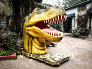 Outdoor Fiberglass Statues T Rex Head