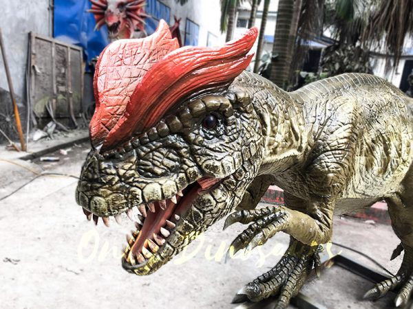 Park Atrraction Animatronic Dinosaurs Dilophosaurus1