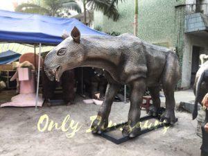 Prehistoric Animal Animatronic Paraceratherium for Museum