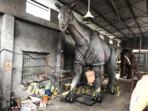 Realistic Adult Prehistoric Animal Paraceratherium
