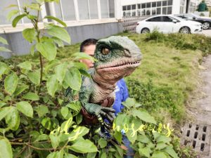 Realistic Raptor Glove Puppet for Jurassic Park