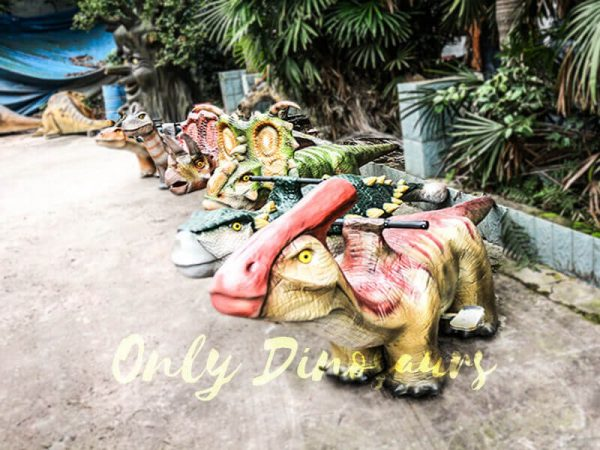 Shopping Mall Rideable Dinosaurs in Group for sale1