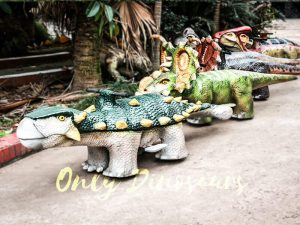 Shopping Mall Rideable Dinosaurs for sale in Group
