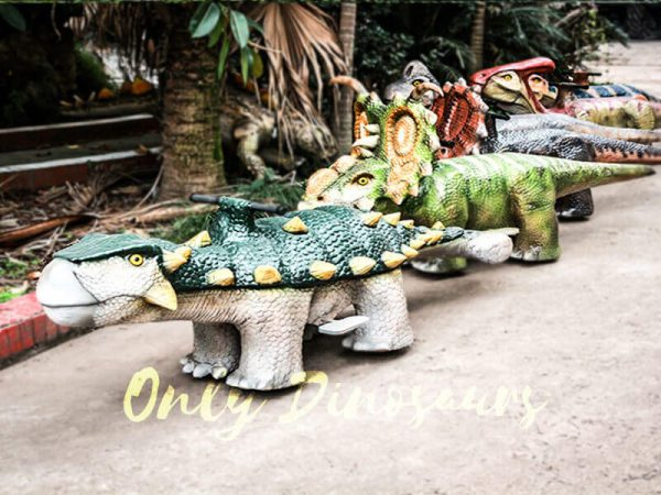 Shopping Mall Rideable Dinosaurs in Group for sale4